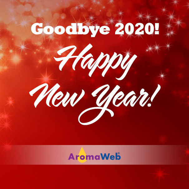Happy New Year from AromaWeb@