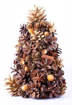 Natural Aromatic Christmas Tree Tabletop Decoration