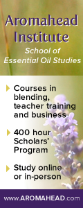Aromahead Institute of Essential Oil Studies - Courses in blending, teacher training and business