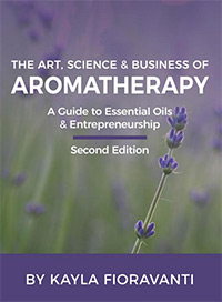 Book Cover for the Art, Science & Business of Aromatherapy
