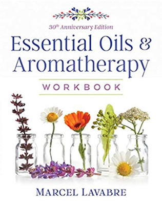 Book Cover for Aromatherapy Workbook 30th Anniversary Edition