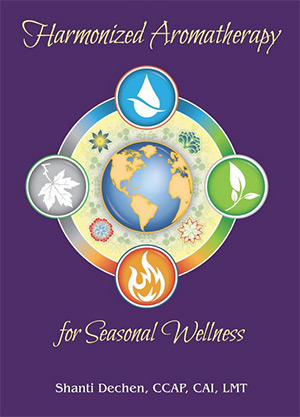 Book Cover for the Harmonized Aromatherapy for Seasonal Wellness