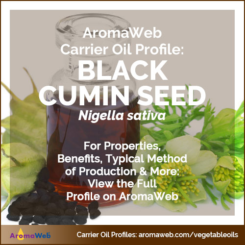 Black Cumin Seed Carrier Oil | AromaWeb