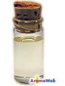 Bottle Depicting the Typical Color of Fragonia Essential Oil