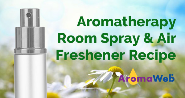Essential Oil Room Spray and Air Freshener Recipe