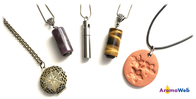 Selection of Essential Oil Jewelry