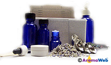 Diluting Essential Oils into Carrier Oil