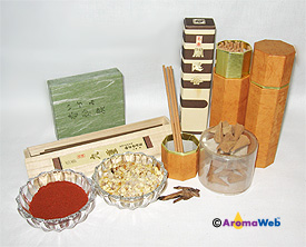 Natural Incense Ingredients