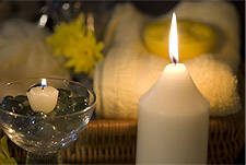 Aromatherapy Candle Photo