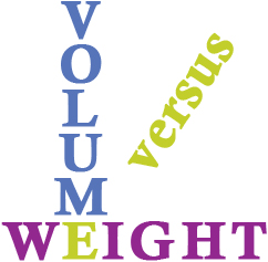 Volume vs. Weight