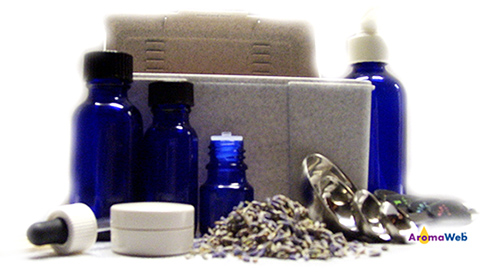 Aromatherapy Recipe Box