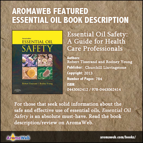 Essential Oil Safety Book Description