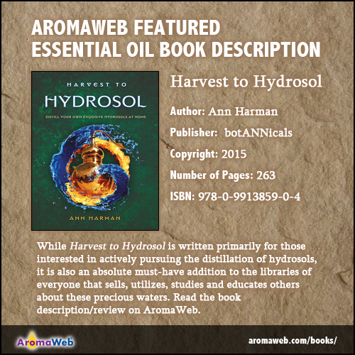 Harvest to Hydrosol Book Description