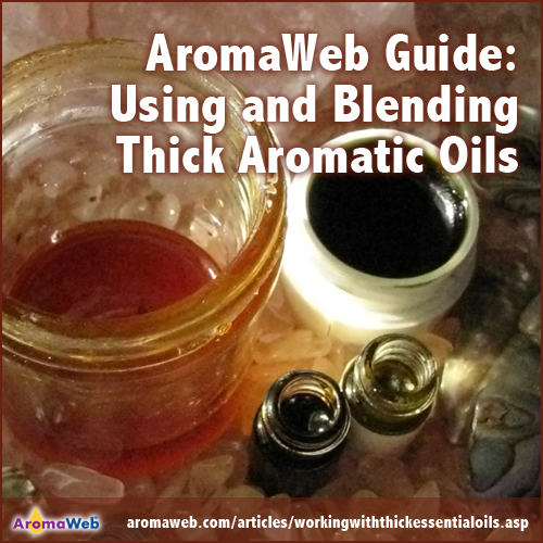 AromaWeb Blending Guide
