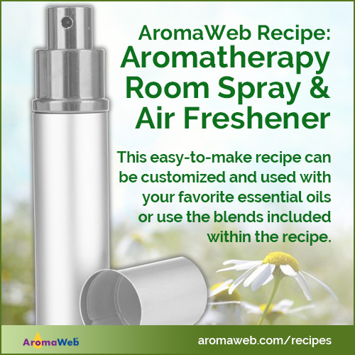 Aromatherapy Room Spray and Air Freshener Recipe