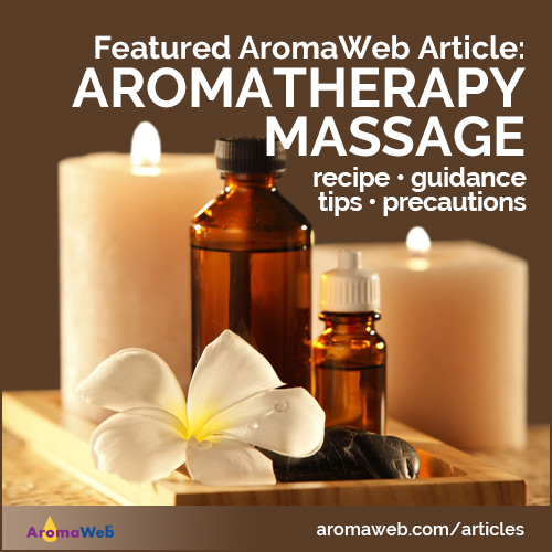 Aromatherapy Massage With Essential Oils