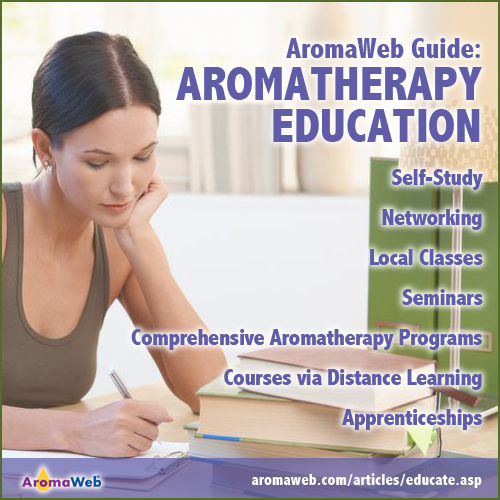 AromaWeb Guide to Aromatherapy Education