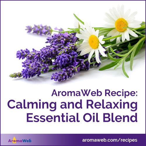 Calming and Relaxing Essential Oil Blend