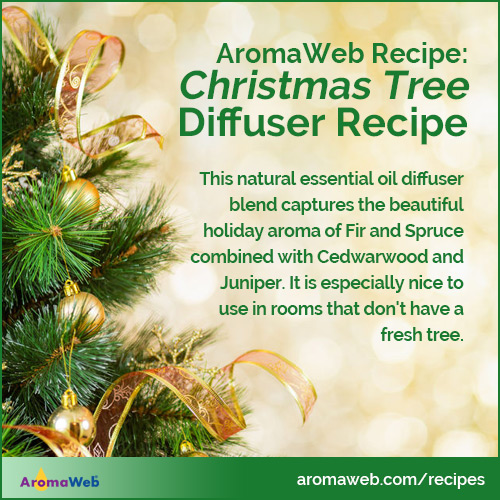 Christmas Tree Essential Oil Diffuser Blend