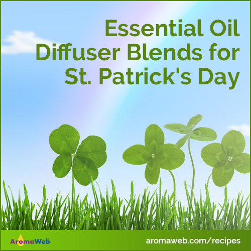 Essential Oils and Diffuser Blends for St. Patrick's Day