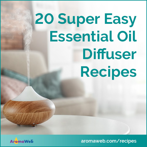 20 Super Easy Essential Oil Diffuser Blends