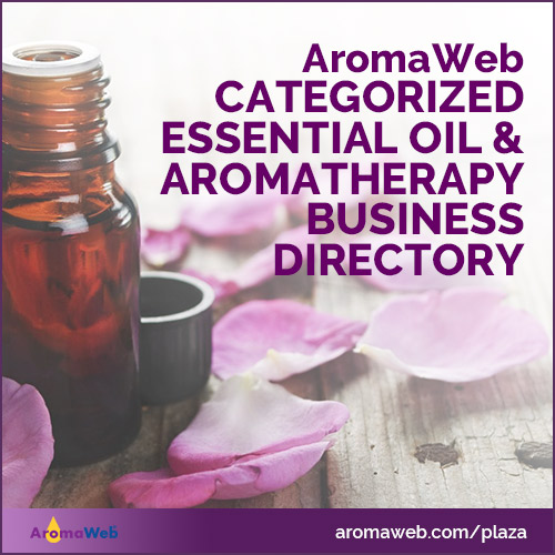 Categorized Essential Oil and Aromatherapy Business Directory