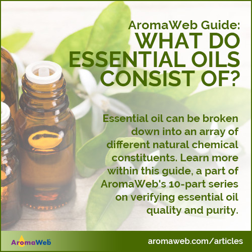 What Do Essential Oils Consist Of?