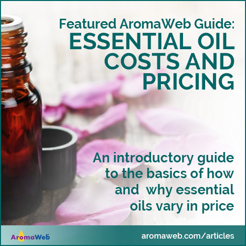 Essential Oil Costs and Pricing