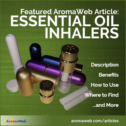 Essential Oil Inhalers