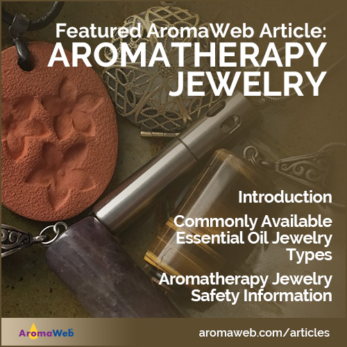 Aromatherapy and Essential Oil Jewelry