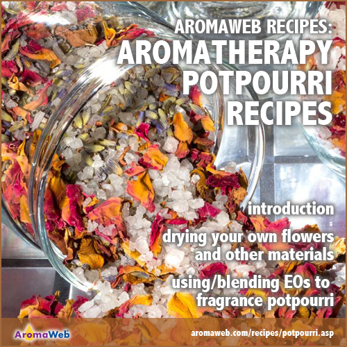 Aromatherapy Potpourri Recipes
