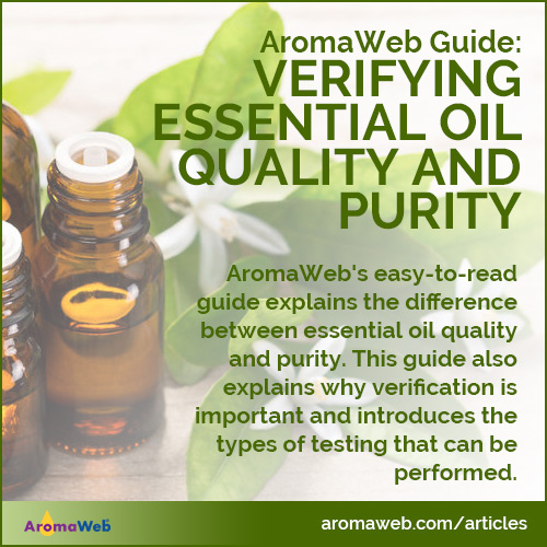 Guide to Verifying Essential Oil Quality and Purity
