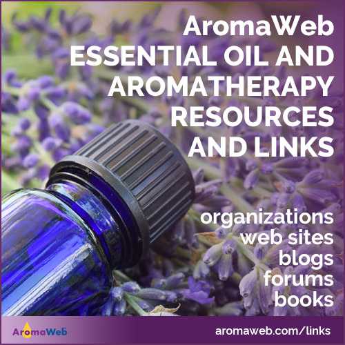 Essential Oil and Aromatherapy Resources and Links