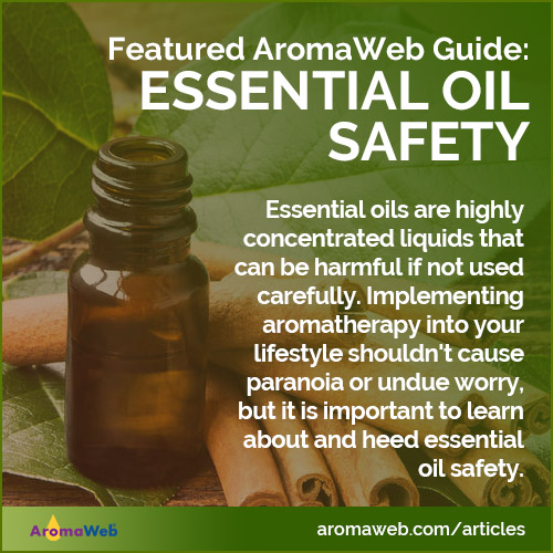 Essential Oil Safety Guide