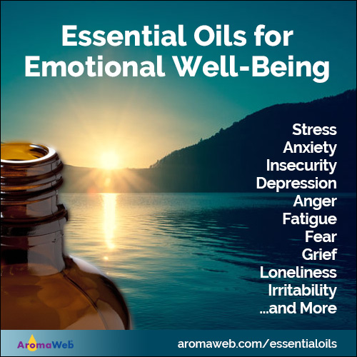 Essential Oil Guide for Emotional Well-Being