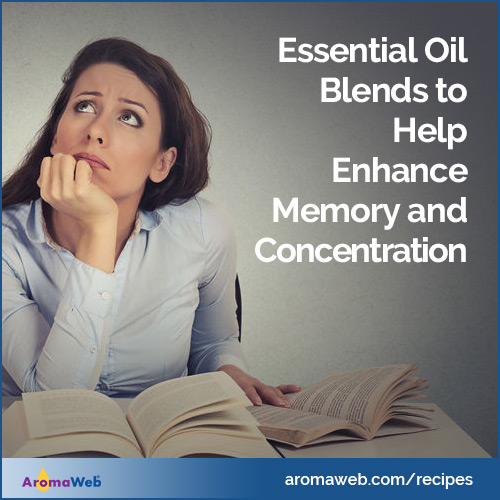 Essential Oil Blends to Enhance Memory and Concentration