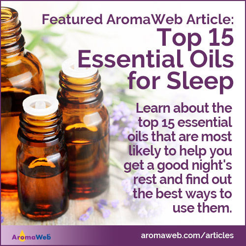 Top 15 Essential Oils for Sleep