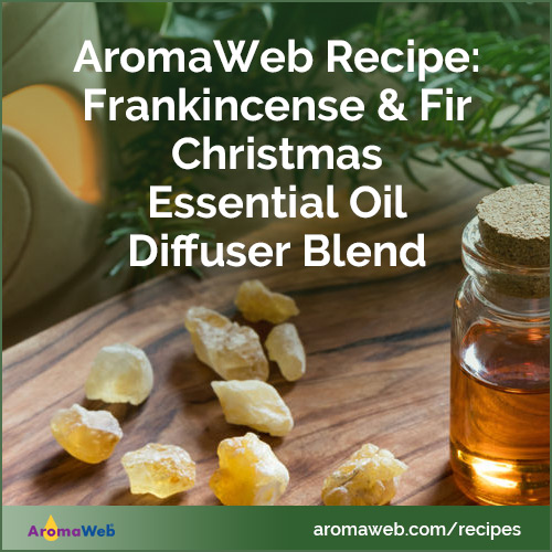 Frankincense & Fir Christmas Essential Oil Diffuser Blend
