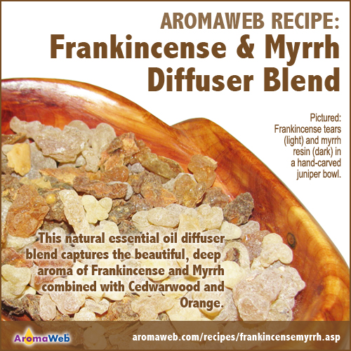 Frankincense and Myrrh Aromatherapy Diffuser Blend