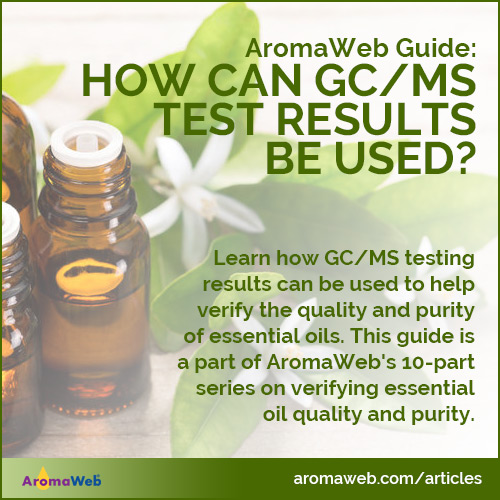 How Can GC/MS Test Results Be Used?
