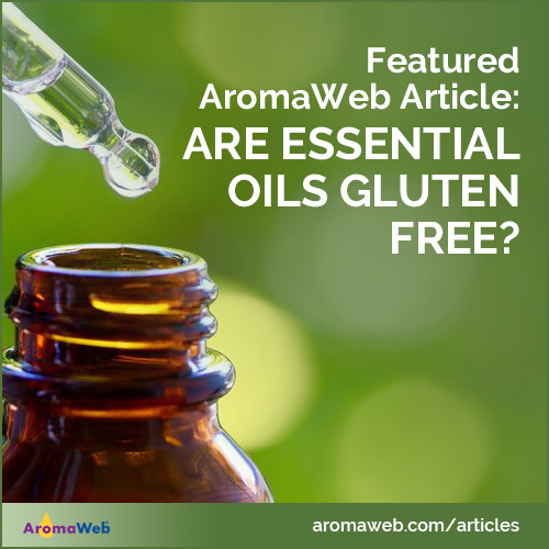 Are Essential Oils Gluten Free?