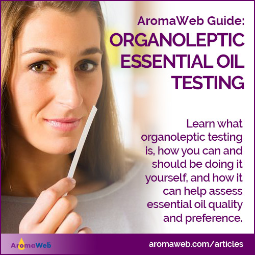 Organoleptic Testing of Essential Oils