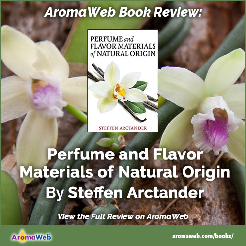 Book Review: Perfume and Flavor Materials of Natural Origin