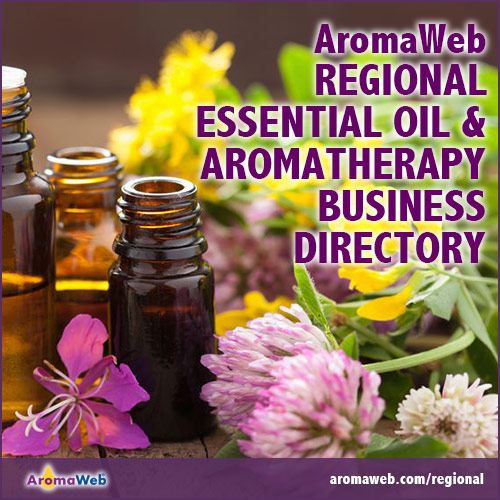 Regional Essential Oil and Aromatherapy Business Directory