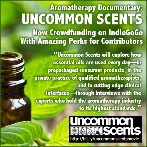 Learn About Uncommon Scents a feature length documentary and supports its crowdfunding efforts