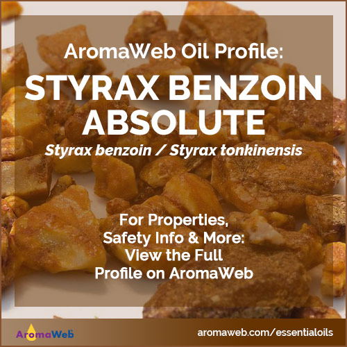 Styrax Benzoin Absolute Profile