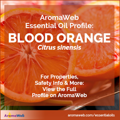 Blood Orange Essential Oil Profile