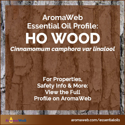 Ho Wood Essential Oil Profile