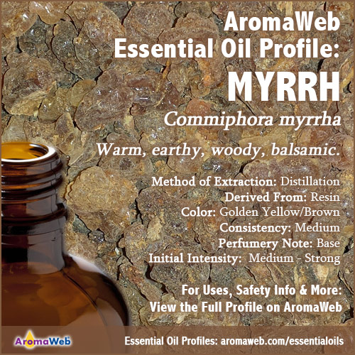 Myrrh Essential Oil Profile
