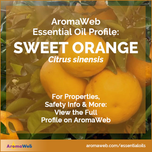 Sweet Orange Essential Oil Profile